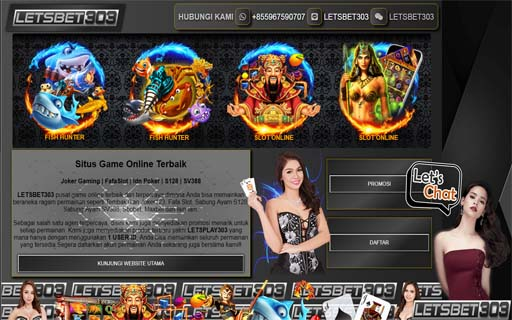 Slot Online Deposit Ovo Termurah Bersama LetsBet303